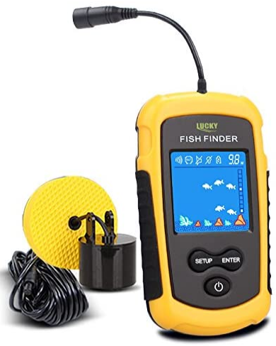 LUCKY Handheld Fish Finder Portable Fishing. best portable fish finder