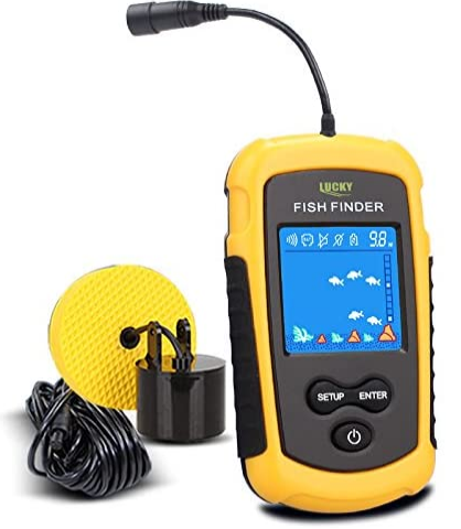 8. LUCKY Handheld Fish Finder Portable Fishing. best portable fish finder for small boat
