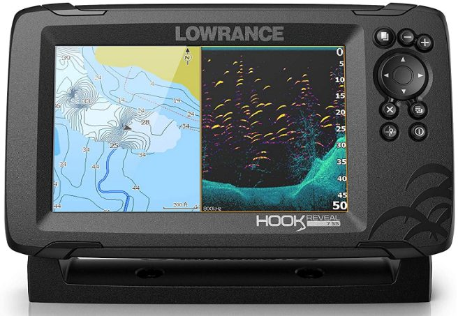 Lowrance Hook 2 5 inch fish finder